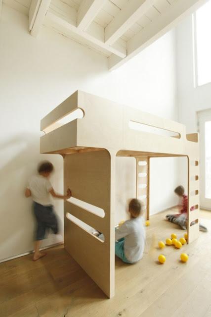 marq gzgz marq propuesta loft bed. Black Bedroom Furniture Sets. Home Design Ideas