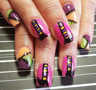 Halloween witch nails