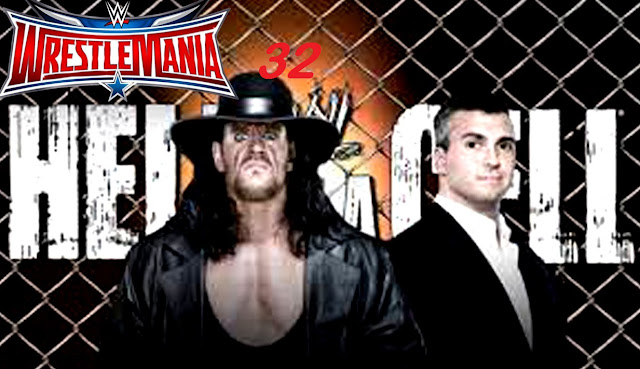 Undertaker vs Shane McMahon Match Highlights wrestlemania 32 Hell in the Cell