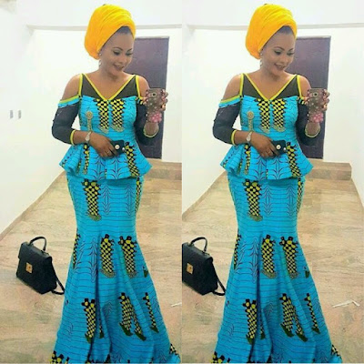 Ankara Blouse And Skirt 27