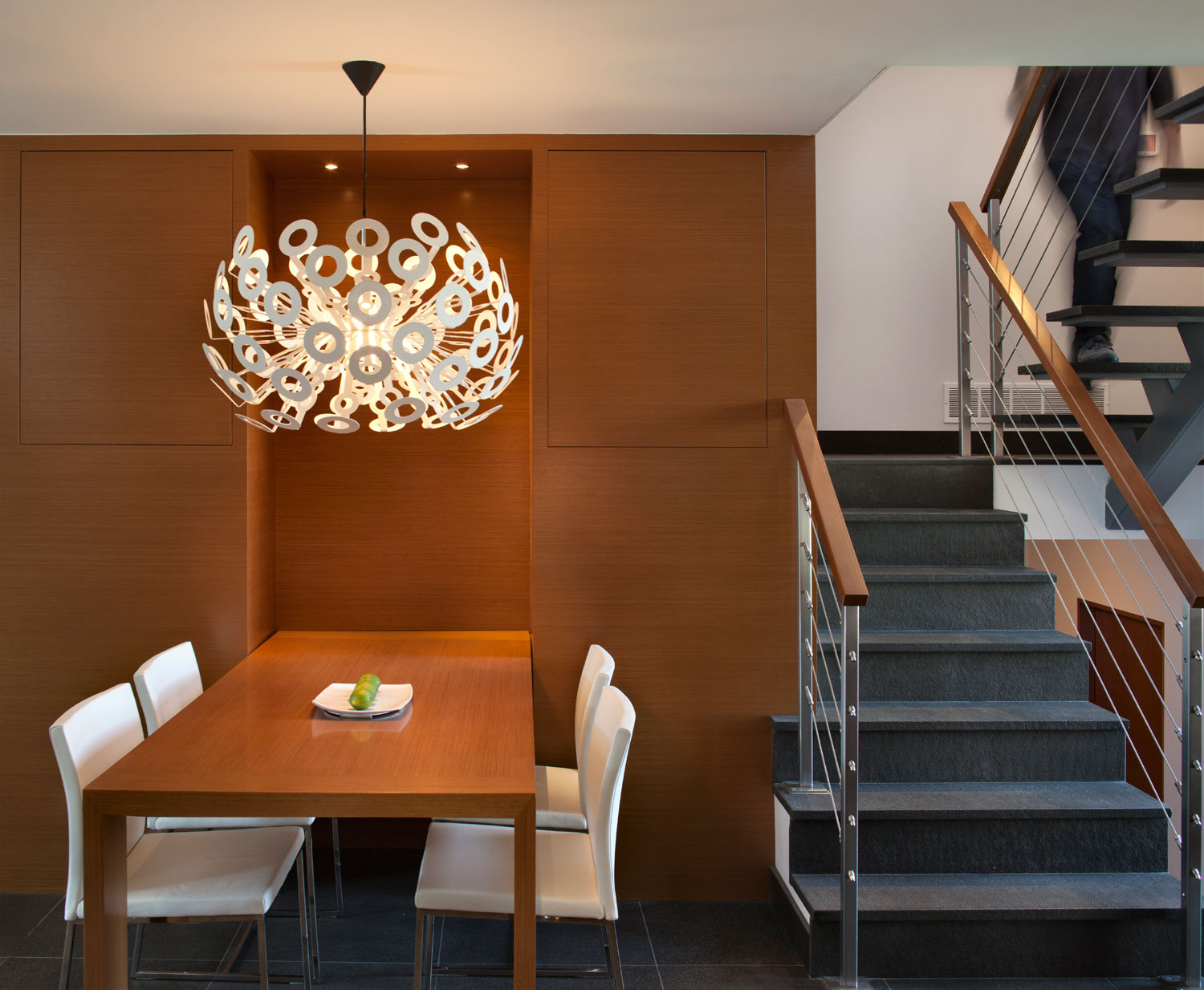 Simple Dining Area And Furniture Can Look Elegant By Adding The Perfect Chandelier