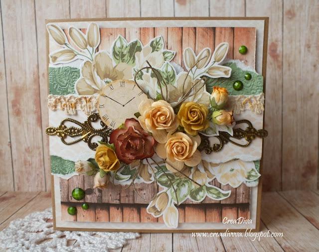 Róże w stylu vintage / Vintage style roses