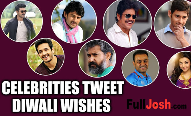 Tollywood Celebrities Tweets Diwali Festival Wishes To Their Fans
