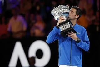 Kalahkan Nadal, Novak Djokovic Juara Australian Open 2019