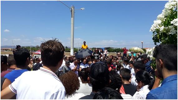 Dor e comoção marcam o sepultamento do filho do ex-prefeito de Lajes, morto em sequestro!