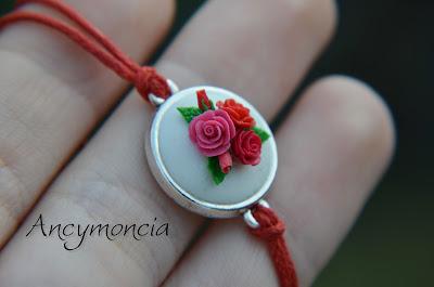 Różany komplet