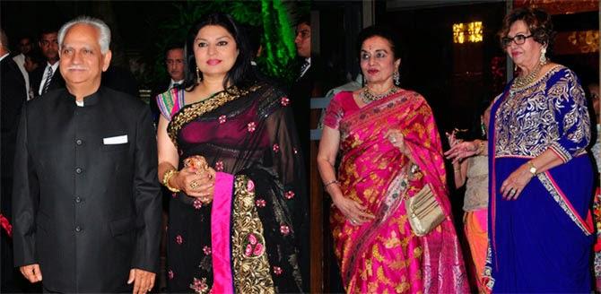 Ramesh Sippy, Kiran Juneja, Asha Parekh, Helen
