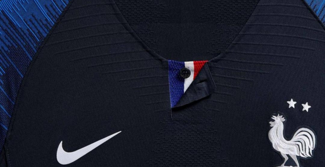 new style 5b32f e6067 No World Cup Winners Badge - Nike France 2 Star 2018 Home ...
