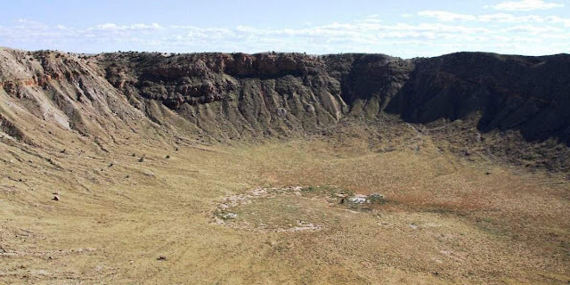 Rare Mineral Found Only in Ancient Meteorite Impact Crater