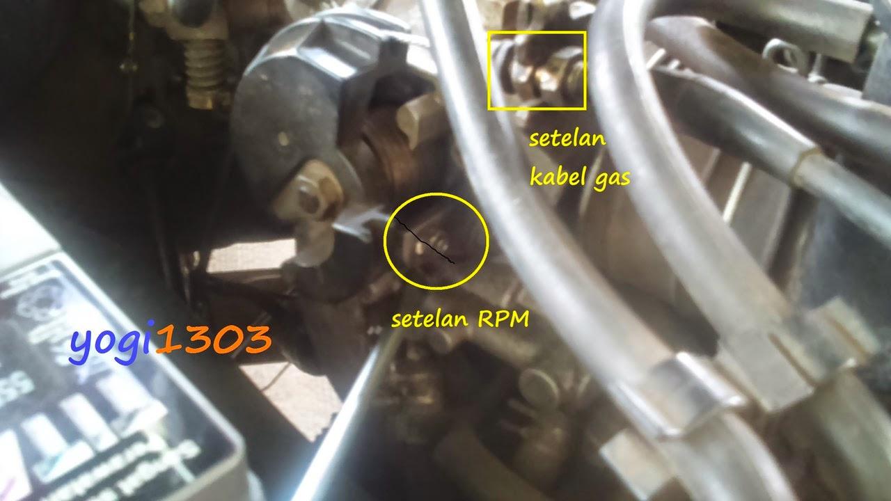 DIY : tuning mesin Taruna EFI : setelan rpm, angin dan