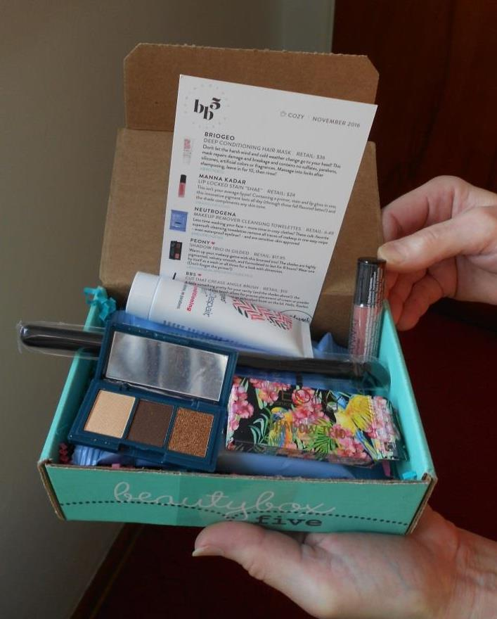 Beauty Box 5 November 2016