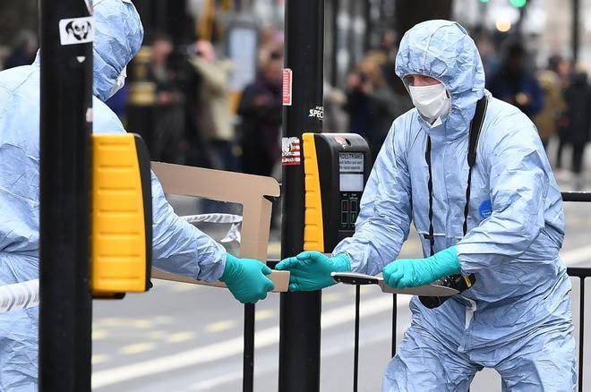 إصابة امرأة برصاص الشرطة في عملية مكافحة الإرهاب في شمال لندن