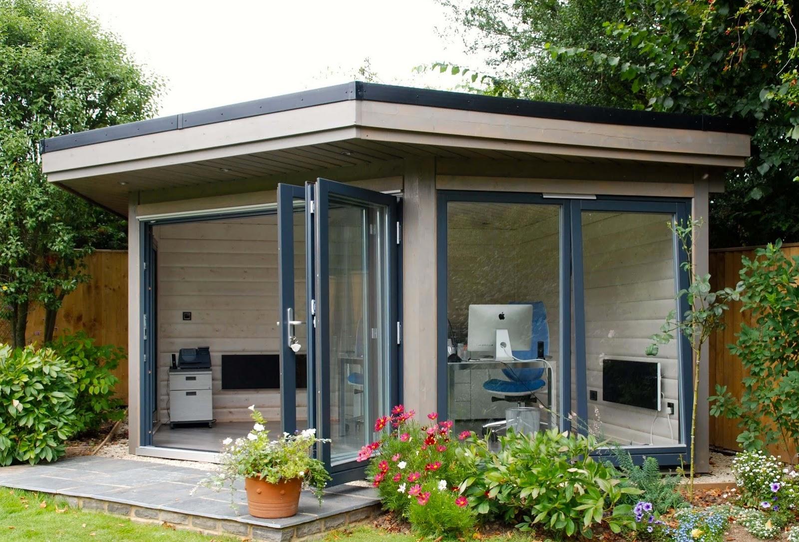 Shedworking Norwegian Log Garden Office