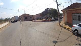 No trevo de Santa Rita do Sapucaí/MG