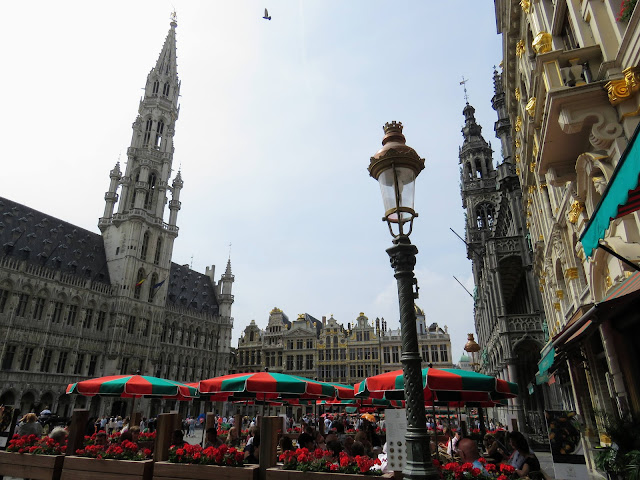 4 hour layover in Brussels: Grote Markt (Brussels Grand Place)