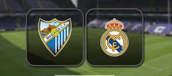 Málaga VS Real Madrid (WATCH HERE)