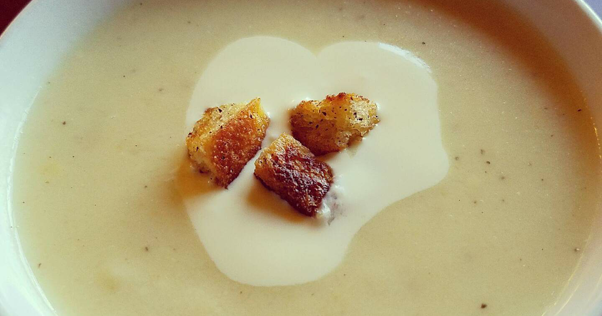 37 Cooks: Cauliflower Fondue Soup