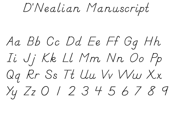 Zaner Bloser Handwriting Paper Template