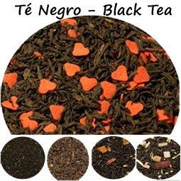 Selección de Tés Negros puros y con sabores