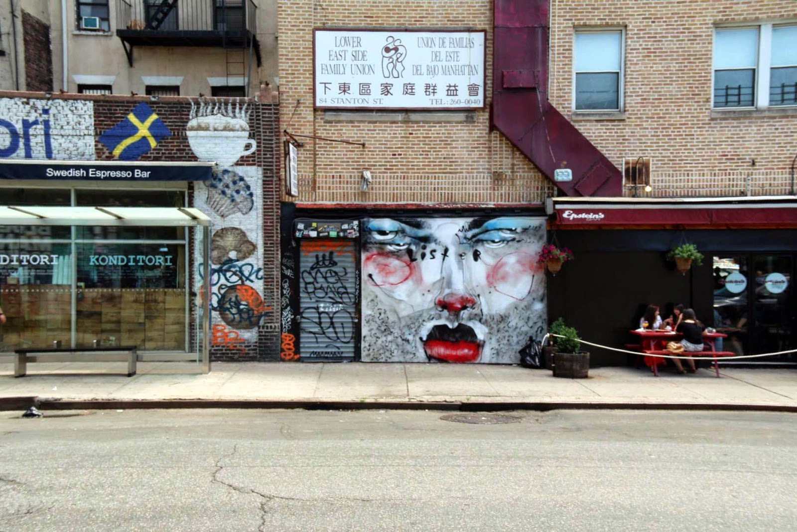 Tivoli Ny Street Painting Festival Lister New Mural Lower East Side New York City