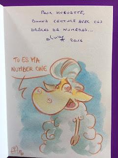 """Quelques dédicaces de """"La Peau de Chagrin"""" et de """"Conte Moutons"""". ©Guillaume Néel"""