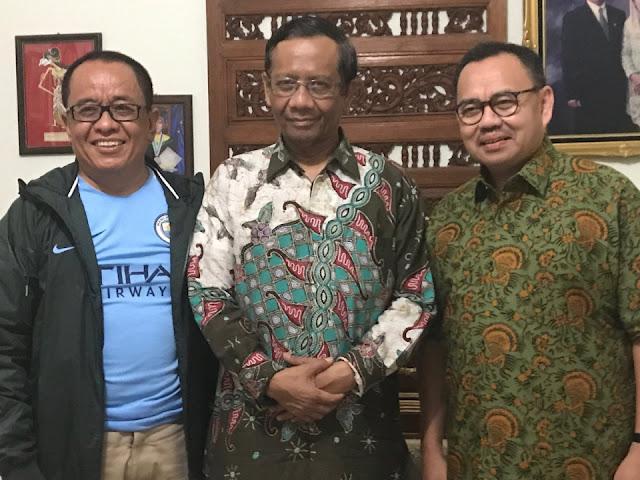 Blak-blakan Mahfud MD Soal Freeport dan Bela Sudirman Said dari Fadli Zon
