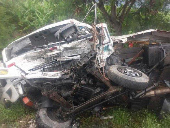 Cinco muertos accidente carretera Azua-Baní