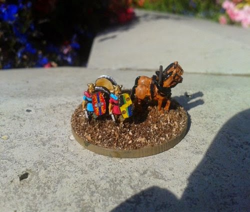 Here's a British chariot command we have finished hope you enjoy it  picture 1