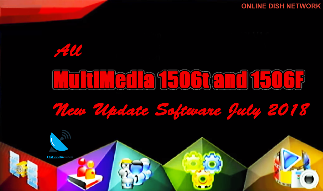 Multimedia 1506T And 1506F HD Receiver New Software 2018