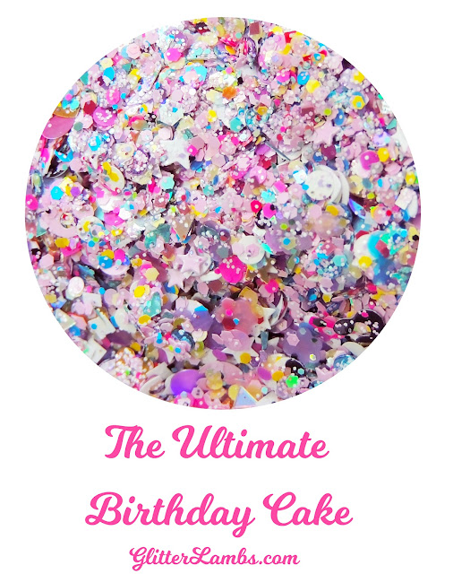 The Ultimate Birthday Cake Nail Polish-The Ultimate Birthday Cake Nail Polish- The Ultimate Birthday Cake Nail Polish-Glitter Lambs Polish