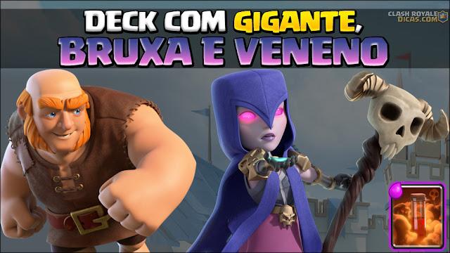 Deck de Gigante com Bruxa e Veneno