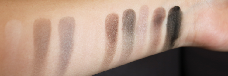 GOSH 9 Shades Matt Shadow Collection in 004 To Be Cool In Copenhagen review swatches