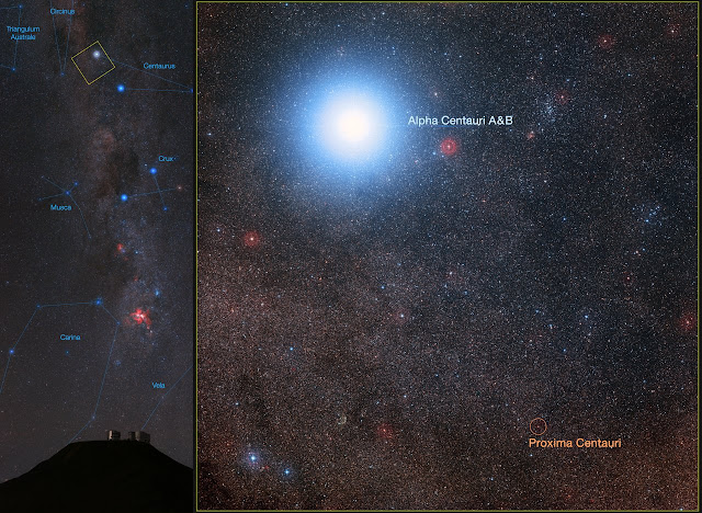 VLT to search for planets in the Alpha Centauri system
