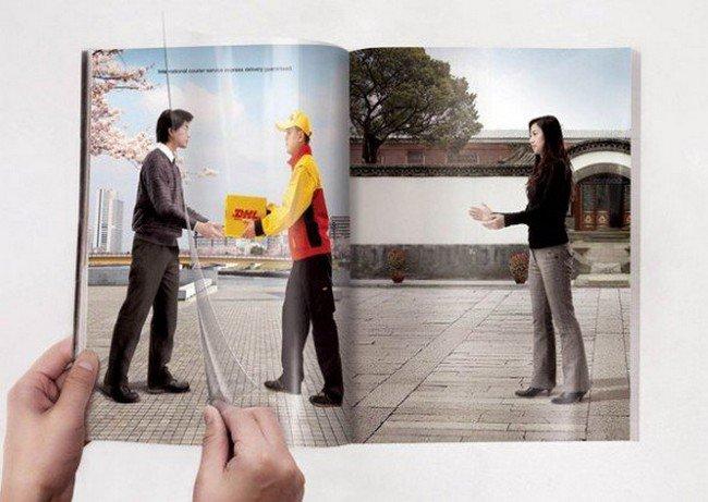 anuncios criativas duas paginas revistas e jornais 01 - 16 Anúncios de duas páginas mega criativos.