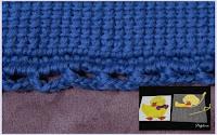 Tunisian crochet sampler join