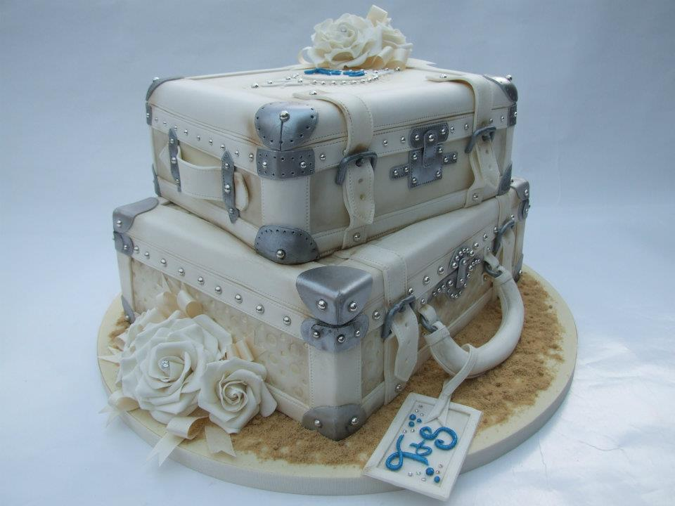Birthday Cakes For You Suitcase Cake