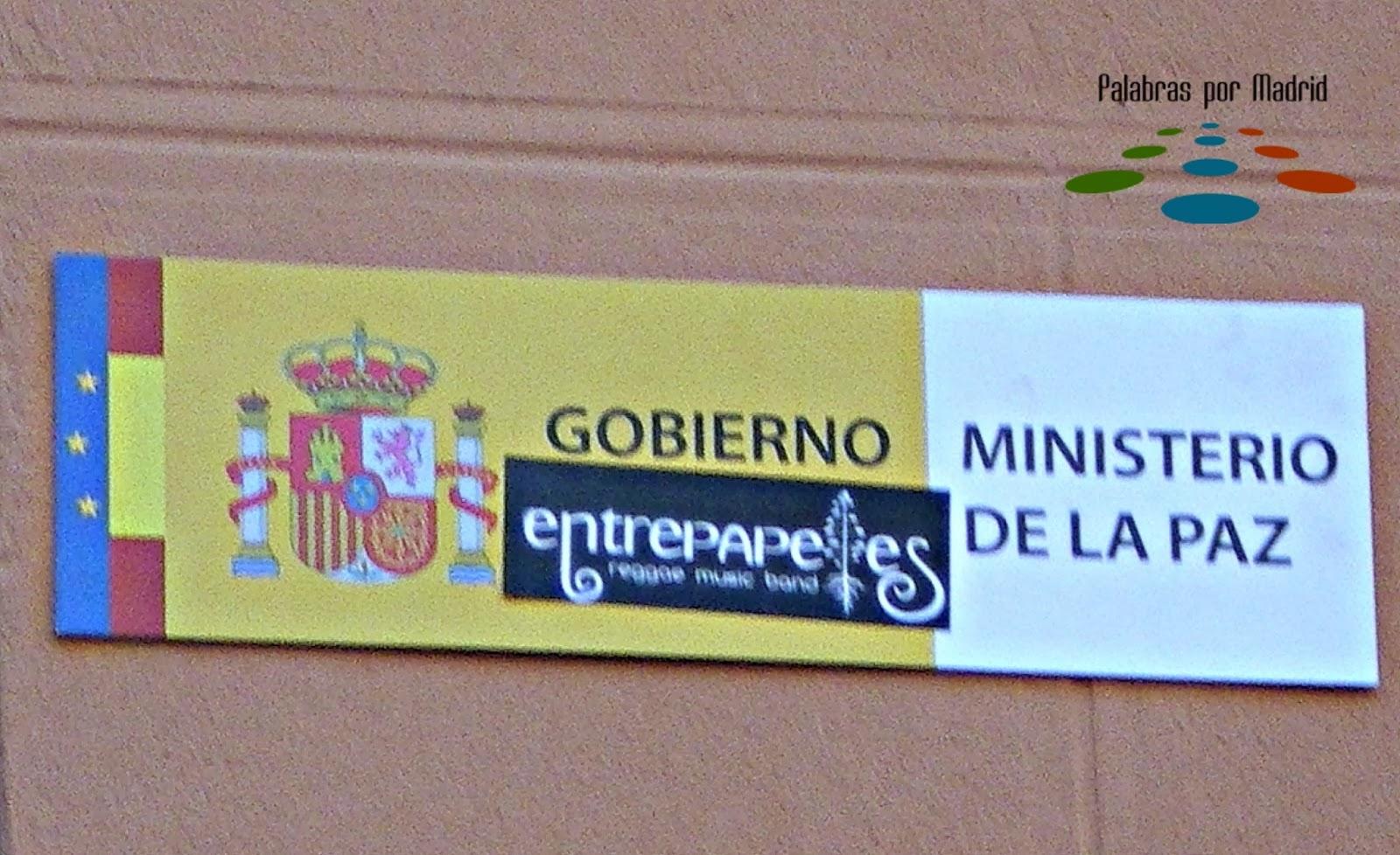 Paz interior aprende espa ol callejeando por madrid for Ministerio de interior madrid