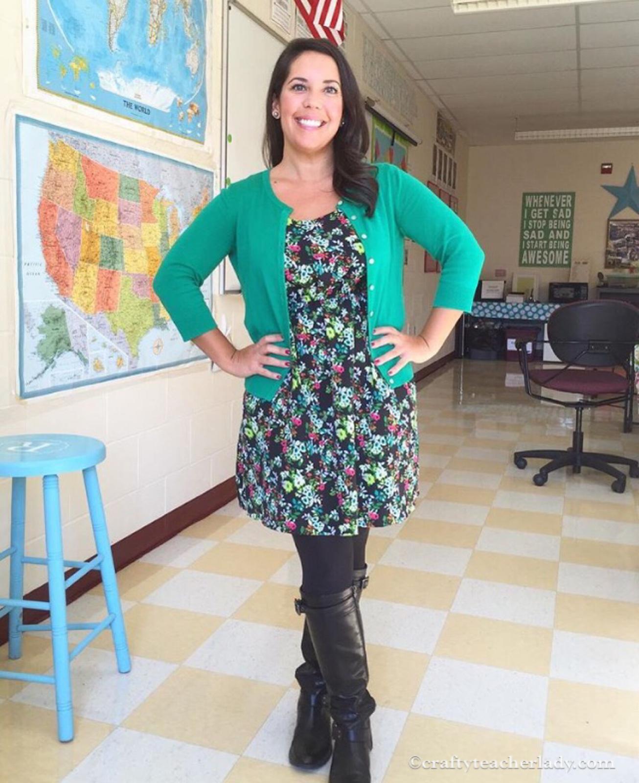 Crafty teacher lady 2017 teacher outfits solutioingenieria Images