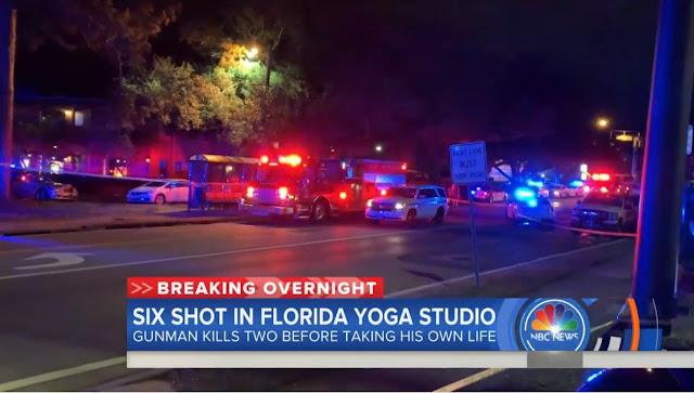 Florida yoga shooter spouted