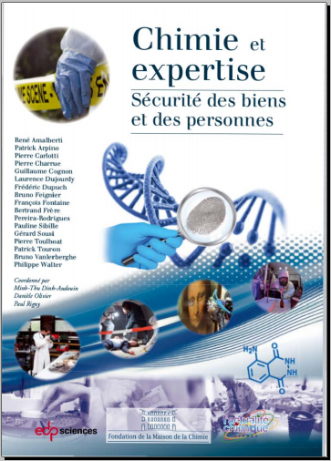 Livre : Chimie et expertise - Sécurité des biens et des personnes PDF