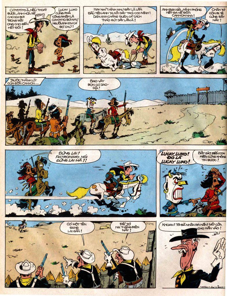 Lucky Luke tap 12 - khe vuc apache trang 36