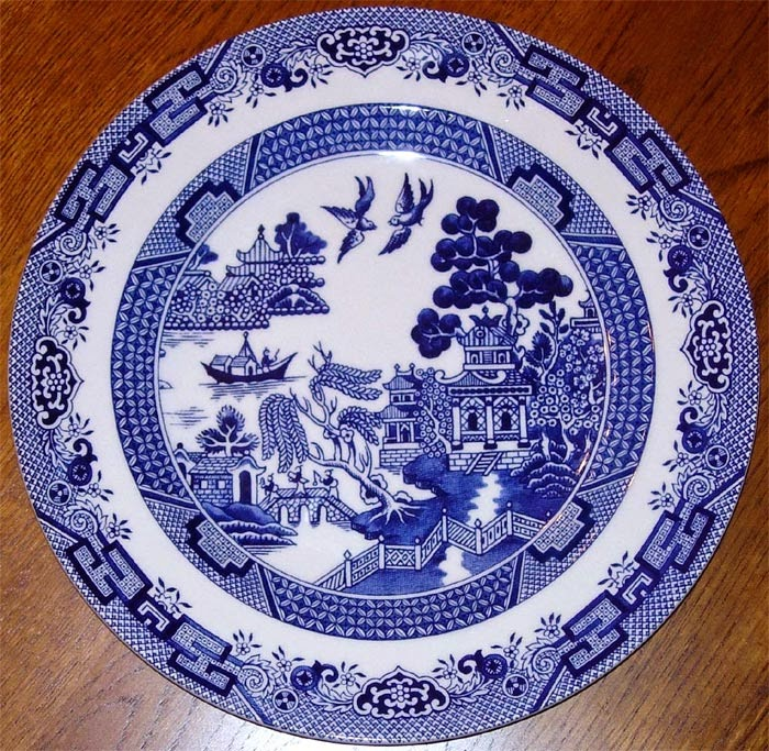 Porcelana Brasil The Willow Pattern