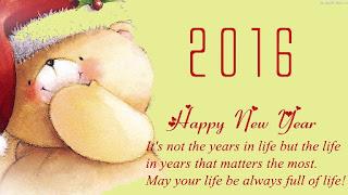 Kartu Ucapan Happy new year 2016 selamat tahun 2016 16