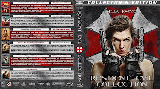 Resident Evil Collection Bluray Cover