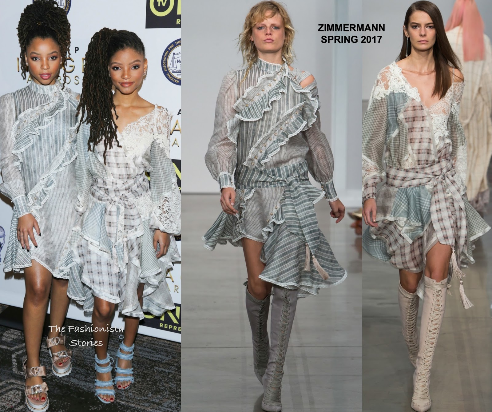 Chloe X Halle In Zimmermann At The 48th Naacp Image Awards