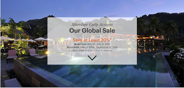 IHG 洲際酒店全球促銷活動 最低可享20%折扣 (7月31日前預訂)