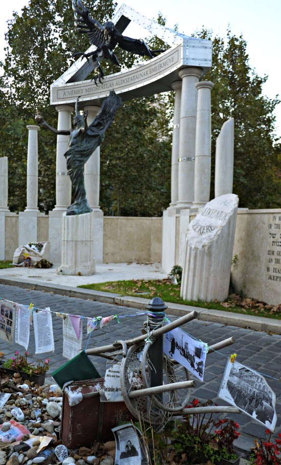 Jewish memorial Budapest