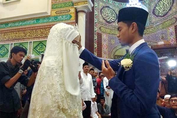 Ini Dia Istri Muzammil Hasballah, Qari Muda Asal Aceh Yang Baru-baru Ini Menikah