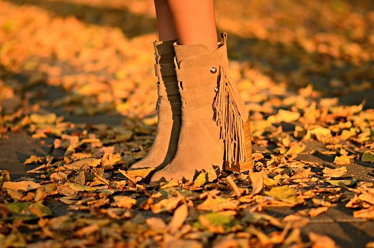 Zara Suede Fringe Ankle Boots, Tamara Chloé