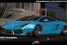 Lamborghini Gallardo Liberty Walk for GTA SA Android Mod